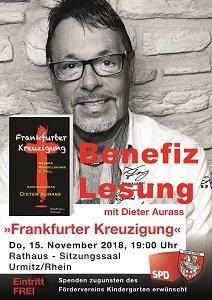 Plakat Benefiz Lesung Dieter Aurass